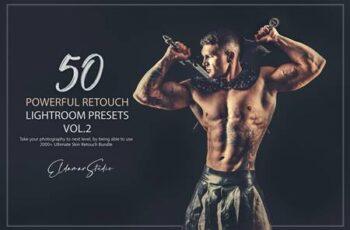 50 Powerful Retouch Lightroom Presets - Vol. 2 2SSP5U7 2