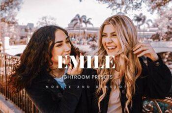 Emile Lightroom Presets Dekstop and Mobile YQNSQ4L 3