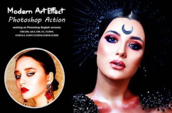 Modern Art Effect Photoshop Action 5378257 7