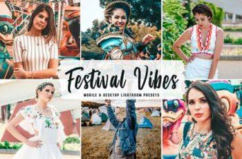 Festival Vibes Mobile & Desktop Lightroom Presets JQPCVCL 3