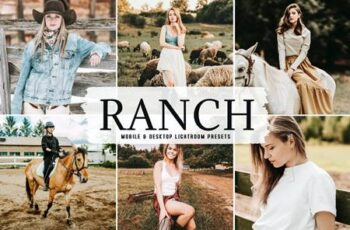 Ranch Mobile & Desktop Lightroom Presets SW8KYJP 4