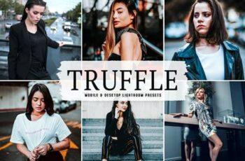 Truffle Mobile & Desktop Lightroom Presets Y9R4NCK 2