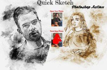 Quick Sketch Photoshop Action 6261894 4