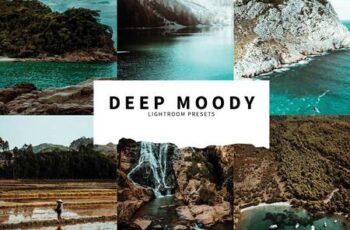 10 Deep Moody Lightroom Presets 6076178 6