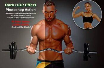 Dark HDR Effect Photoshop Action 5509525 7