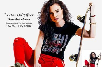 Vector Oil Effect PS Action 5300337 4
