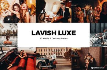 20 Lavish Luxe Lightroom Presets & LUTs QYCGNS8 7