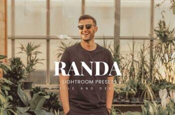 Randa Lightroom Presets Dekstop and Mobile A8PLYZF 6