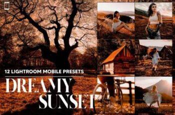 12 Dreamy Sunset Mobile LR Presets 14598582 6