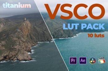 Titanium VSCO Video Luts GTPKYBW 3