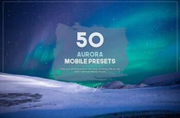 50 Aurora Mobile Presets Pack G3T9DAQ 2