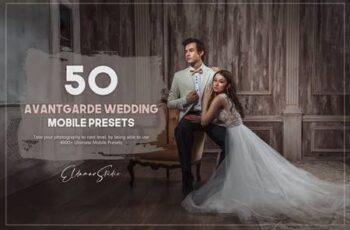 50 Avantgarde Wedding Mobile Presets Pack YMHDRN3 4