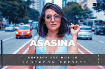 Asasina Desktop and Mobile Lightroom Preset E9ZYDYE 5