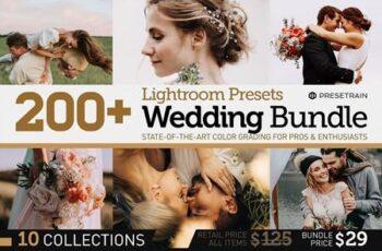 200+ Wedding Presets Bundle 2021 6172458 7