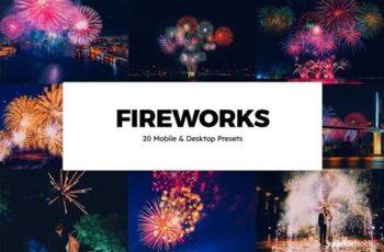 20 Fireworks Lightroom Presets & LUTs 6283937 7