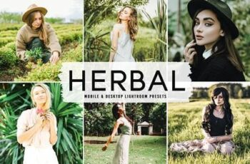 Herbal Pro Lightroom Presets 6283941 6