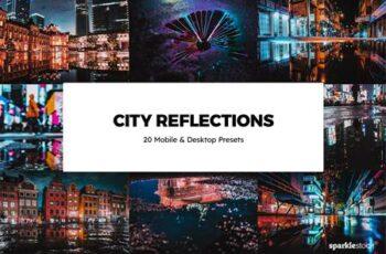 20 City Reflections Lightroom Presets & LUTs U86MBFF 7