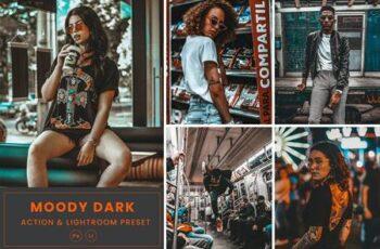 Moody Dark Action & Lightrom Presets SCQSTPH 5