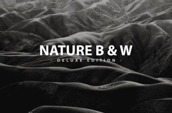 Nature B & W - Deluxe edition for Mobile and PC C9MSUX8 4