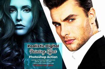 Realistic Digital Painting Effect 6316388 3