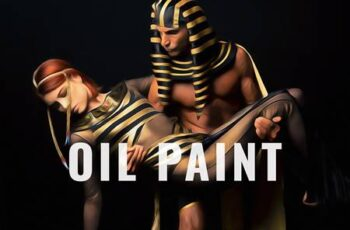 Oil Painting Photo Effect 5802635 2