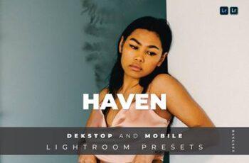 Haven Desktop and Mobile Lightroom Preset DNB357U 5
