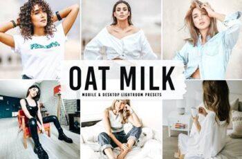 Oat Milk Mobile & Desktop Lightroom Presets J5ZCE4F 3