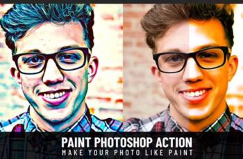 Paint Photoshop Action 2473 2