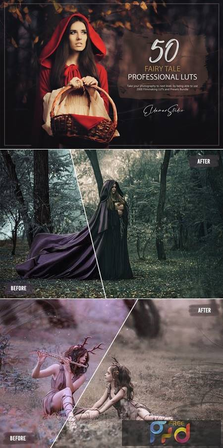 50 Fairy Tale LUTs and Presets Pack XK56AEB 1