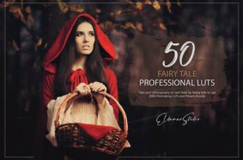 50 Fairy Tale LUTs and Presets Pack XK56AEB 3