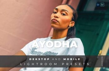 Ayodha Desktop and Mobile Lightroom Preset D8E24JF 4