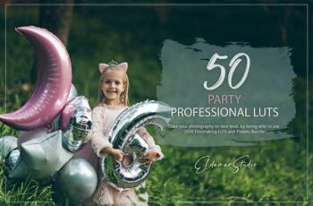50 Party LUTs and Presets Pack SMC6R37 7