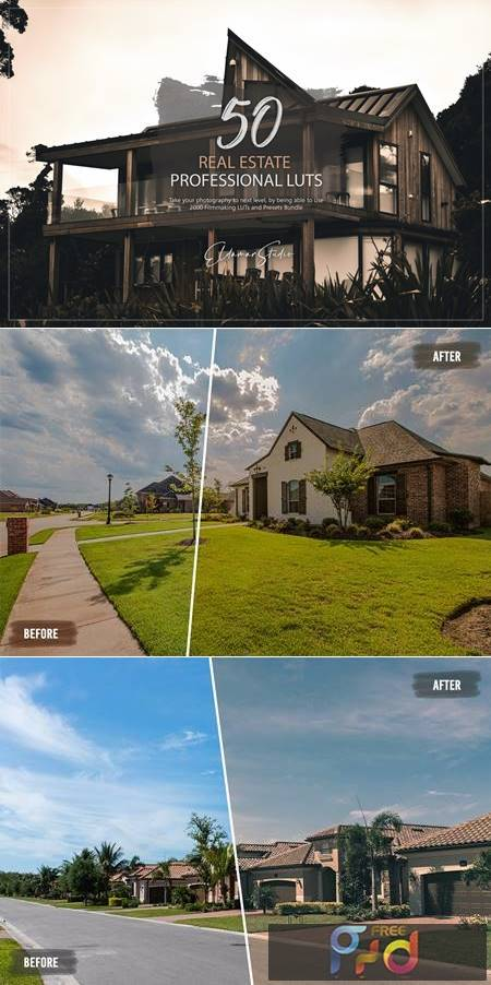 50 Real Estate LUTs and Presets Pack QSQWAKG 1