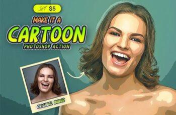 Make It A Cartoon PSAction 5936865 2