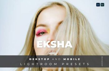 Eksha Desktop and Mobile Lightroom Preset ZYBE8M7 7
