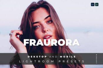 Fraurora Desktop and Mobile Lightroom Preset LKEY9PK 3