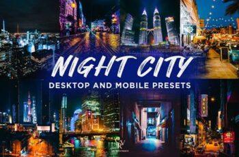 6 Night City Lightroom Presets 6310007 5