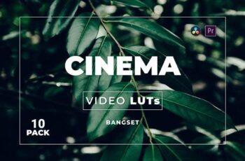 Bangset Cinema Pack 10 Video LUTs W5LQB5T 7