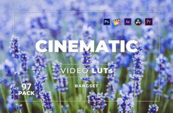 Bangset Cinematic Pack 97 Video LUTs KKAPTCC 2