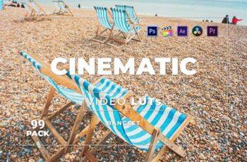 Bangset Cinematic Pack 99 Video LUTs WFXLYBD 7