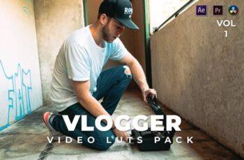 Vlogger Pack Video LUTs Vol.1 F6GMC34 3
