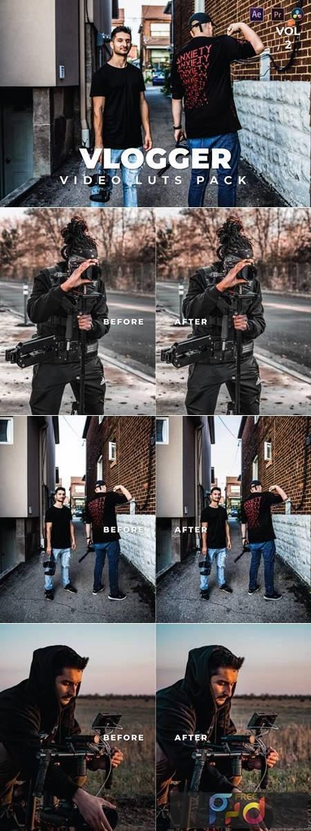 Vlogger Pack Video LUTs Vol.2 ZDA9F59 1