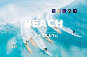 Bangset Beach Pack 9 Video LUTs 95CGEDE 3