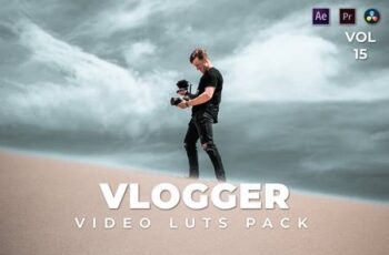 Vlogger Pack Video LUTs Vol.15 UGH226R 6