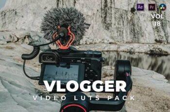 Vlogger Pack Video LUTs Vol.18 YT6AAN3 6
