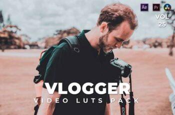 Vlogger Pack Video LUTs Vol.25 DUFHKD7 2