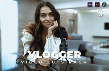 Vlogger Pack Video LUTs Vol.26 8SR54UW 7