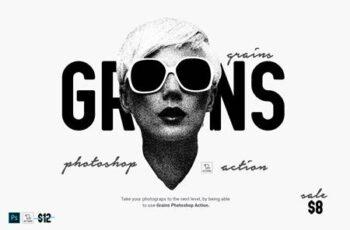 Grains Photoshop Action 6084275 5