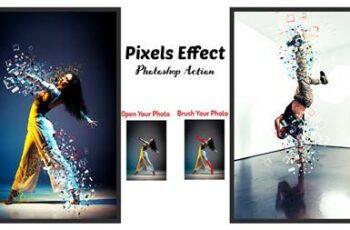 Pixels Effect Photoshop Action 6397296 7