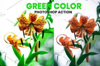 Green Color Photoshop Action 5953604 4